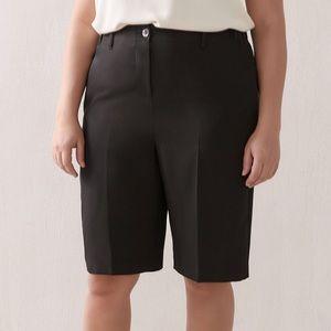 AdditionElle black wide leg bermuda shorts sz 20